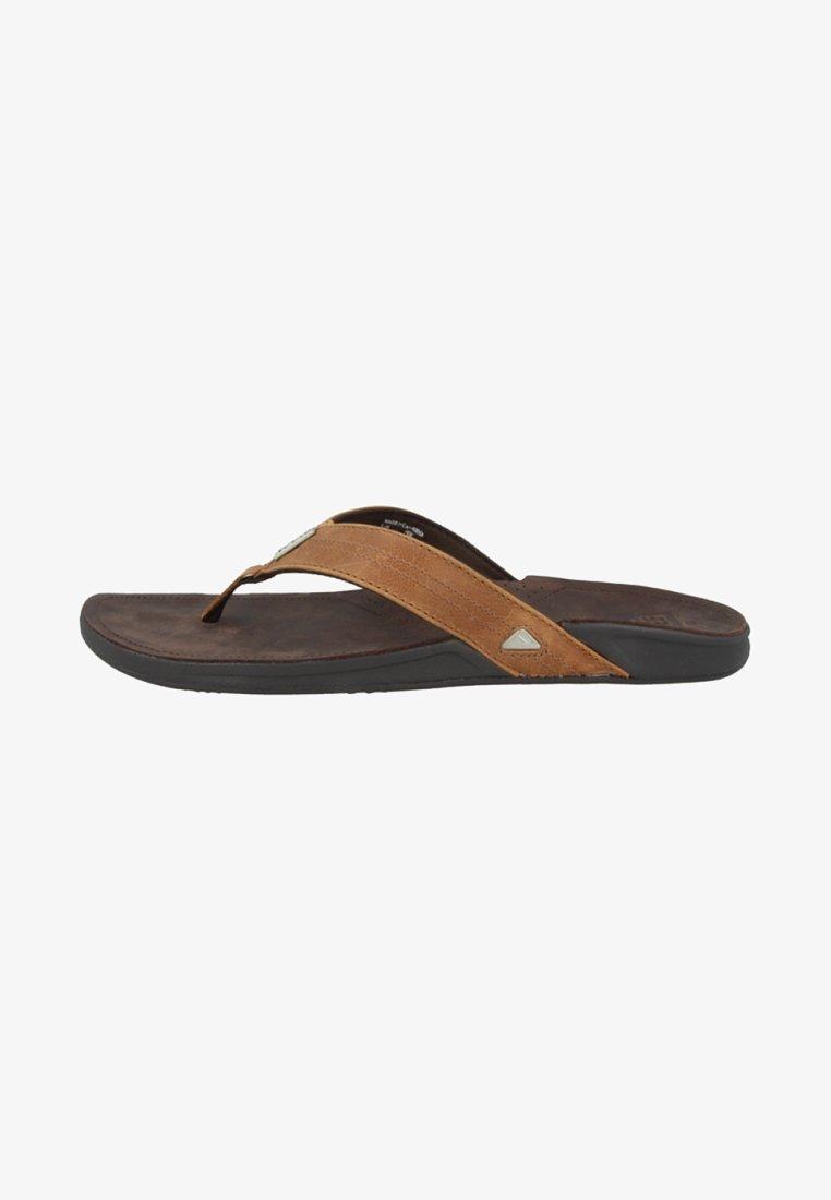 Reef - T-bar sandals - brown