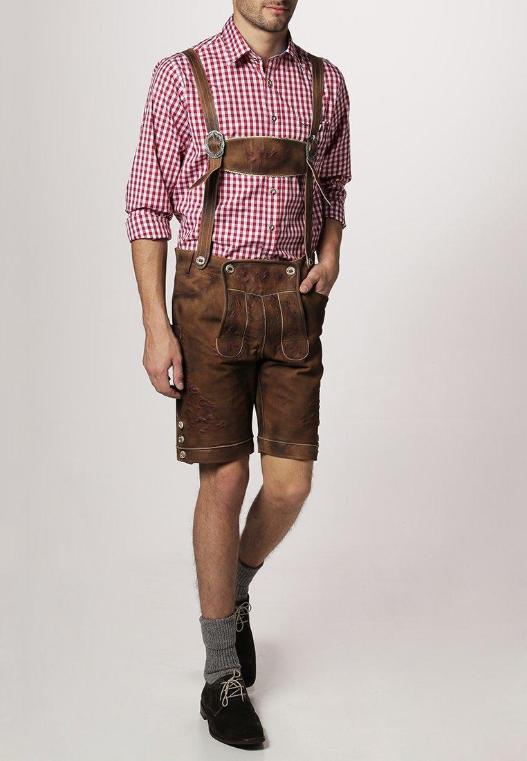 Stockerpoint - RUFUS - Shirt - dunkelrot