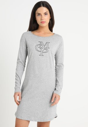 SLEEPSHIRT CREW NECK - Nightie - grey