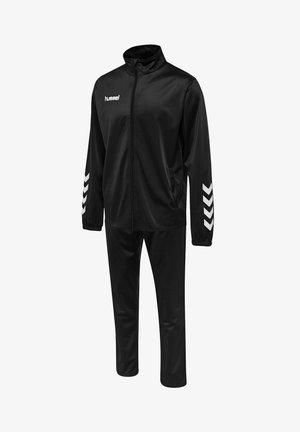POLY SUIT - Træningsbukser - black