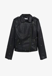 Mango - STAR - Faux leather jacket - schwarz - 0