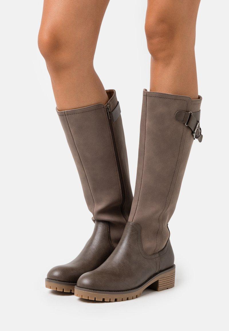 Anna Field - Vysoká obuv - grey
