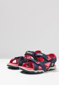 Timberland - ADVENTURE SEEKER 2 STRAP - Walking sandals - navy/pink - 3