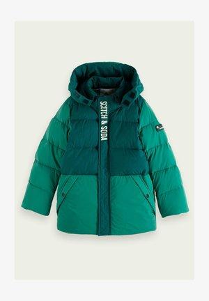 Winter jacket - glacier green