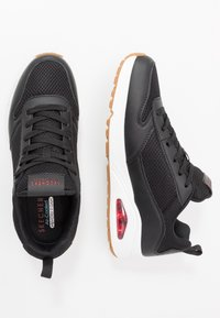 Skechers Sport - UNO FASTIME - Baskets basses - black/red - 1