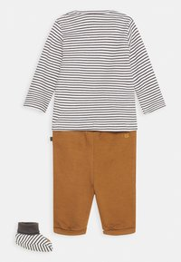 Staccato - SET UNISEX - Trousers - grey/light brown - 1