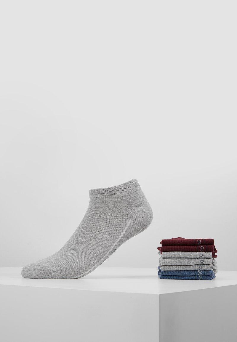 camano - SOFT SNEAKER BOX 7 PACK - Socks - bordeaux