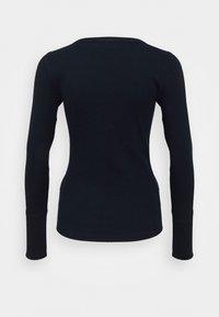 Abercrombie & Fitch - ICON HENLEY - Bluzka z długim rękawem - navy - 1