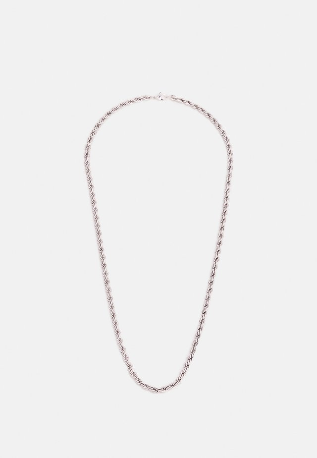 TWIST CHAIN NECKLACE - Halsband - silver-coloured
