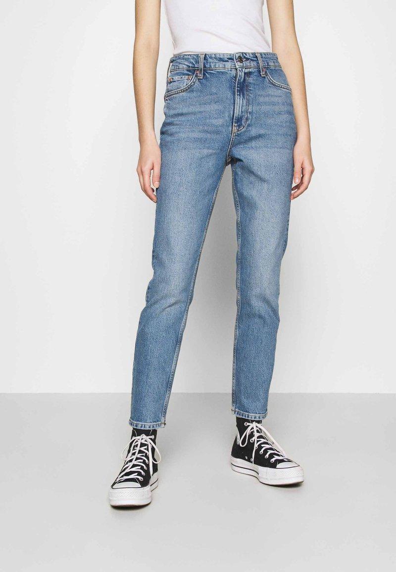 Gina Tricot - TOVE ORIGINAL - Slim fit jeans - blue