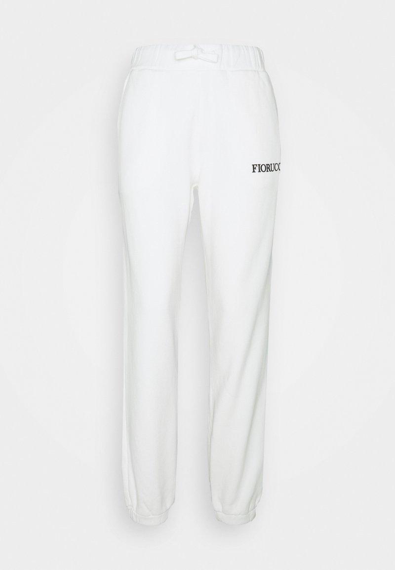 Fiorucci - ANGELS PATCH JOGGER  - Pantaloni sportivi - white