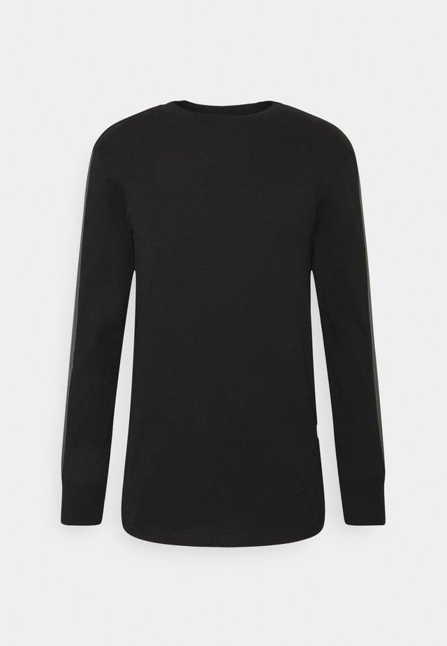 RAW SLEEVE LOGO - Long sleeved top - black