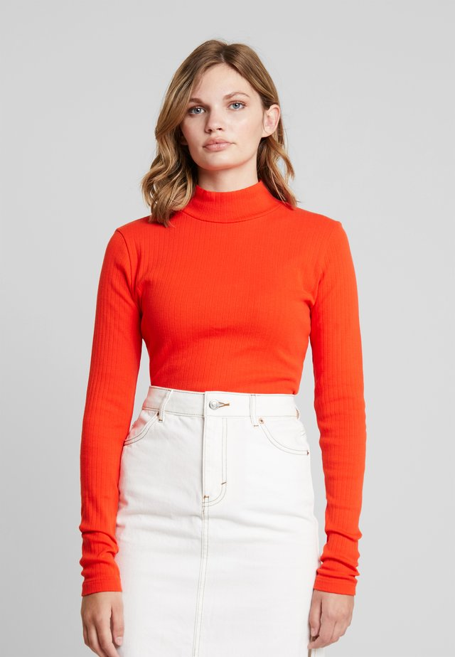 JACOBINA - Long sleeved top - burnt orange