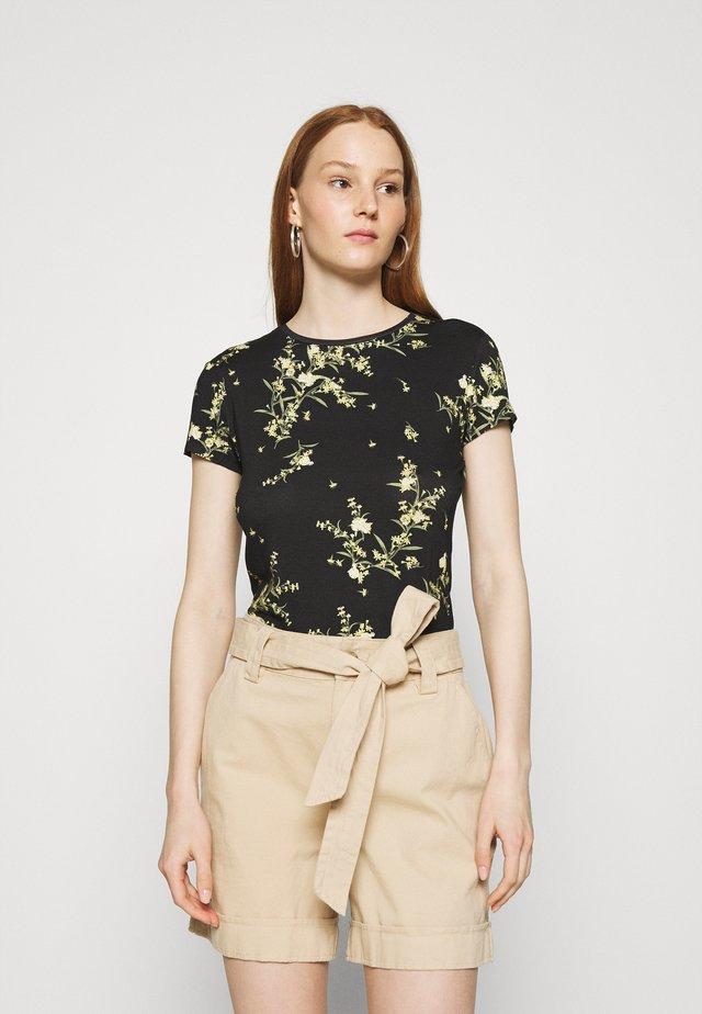 IRENNEE - T-shirt con stampa - black