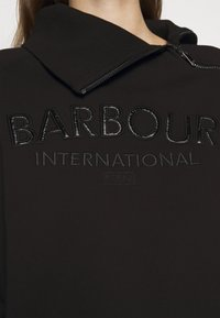 Barbour International - ECLIPSE OVERLAYER - Sweatshirt - black - 6