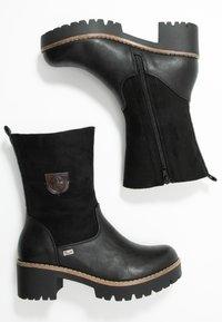 Rieker - Classic ankle boots - schwarz/kastanie - 3