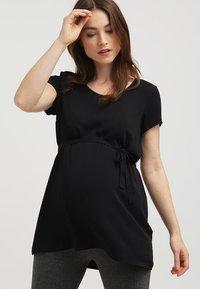 Zalando Essentials Maternity - Blouse - black - 0