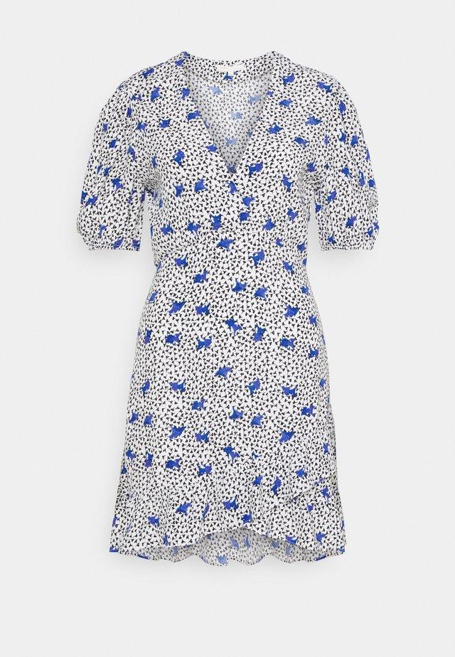 RIPENSEE - Korte jurk - blanc /parme