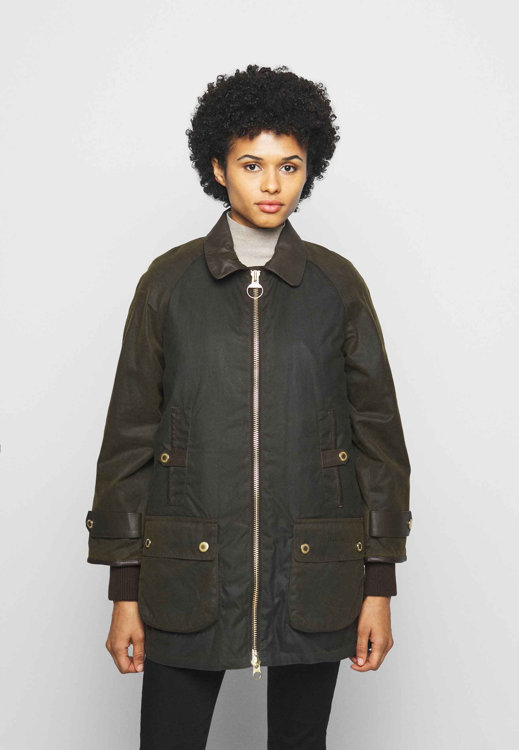Women NORWOOD WAX - Short coat
