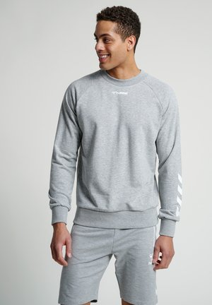 HMLISAM - Sweater - grey melange