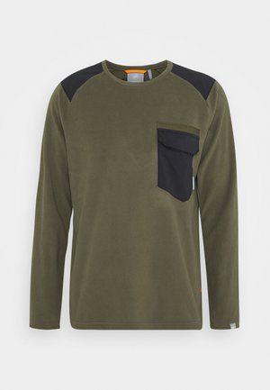 INNOMINATA LIGHT CREW NECK MEN - Felpa in pile - iguana