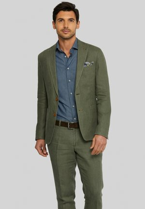 ELRAY - Blazer jacket - dark green