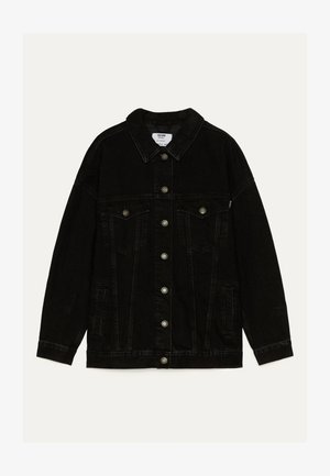 OVERSIZE-JEANSJACKE 01110335 - Denim jacket - black