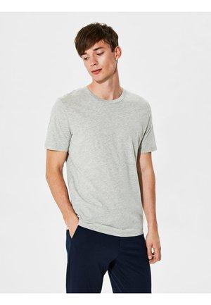 SHDTHEPERFECT - Basic T-shirt - light grey melange