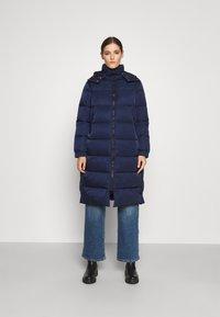 HUGO - FAVINA - Winter coat - open blue - 0