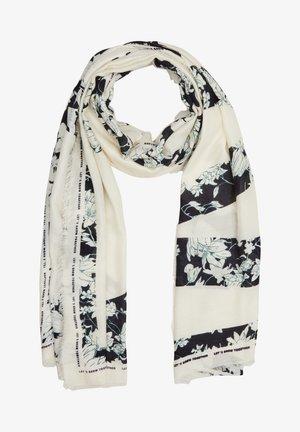 MIT FRANSENSAUM - Sjaal - beige placed print
