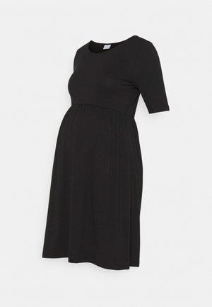 MLELNORA SHORT DRESS - Jersey dress - black