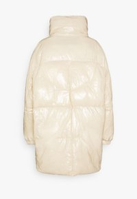 Sixth June - ULTRA OVERSIZED SHINY PUFFER - Winter coat - beige - 1
