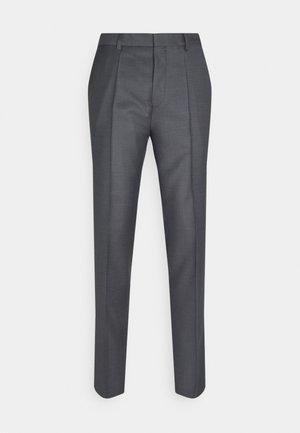 HESTEN - Trousers - medium grey