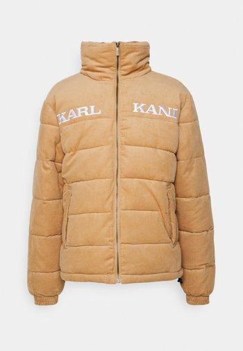 UNISEX  - Winter jacket - sand