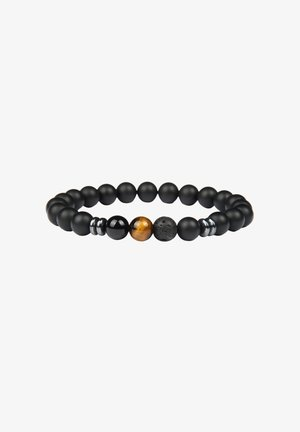 Armband - schwarz+tigerauge