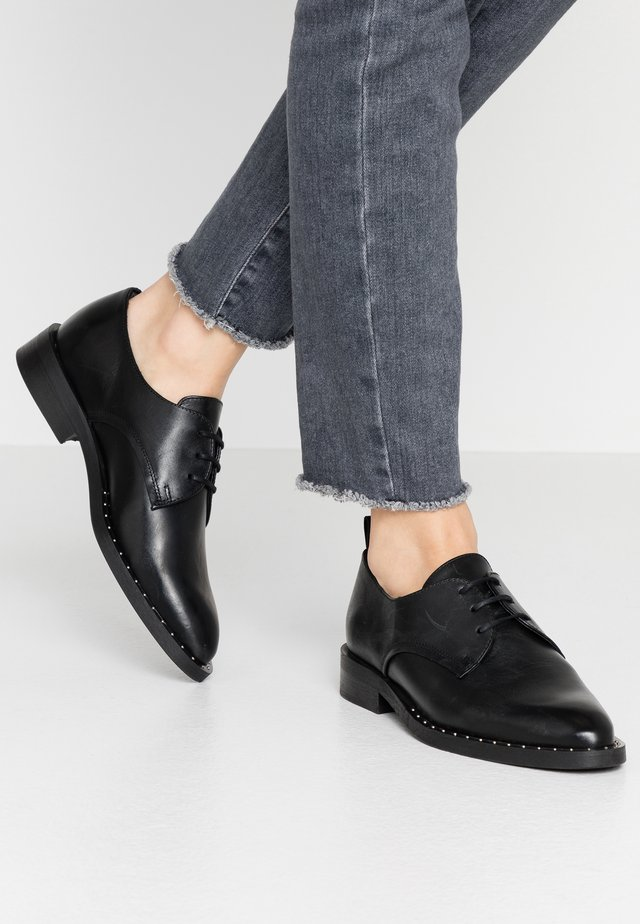 BIACAMBRIE DERBY - Lace-ups - black