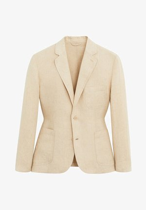 BISLAVE - Blazer jacket - zand