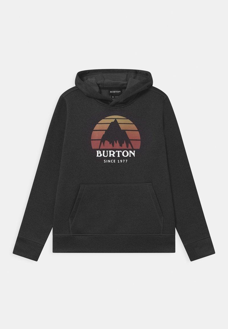 Burton - KIDS OAK HOODIE UNISEX - Sweatshirt - true black heather