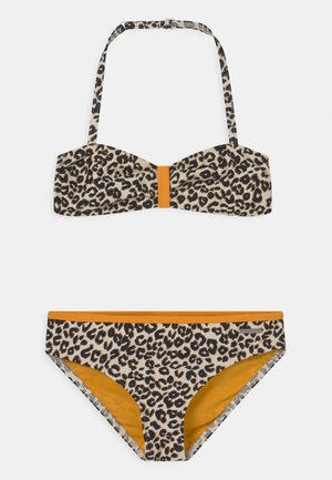 BANDEAU SET - Bikini - brown