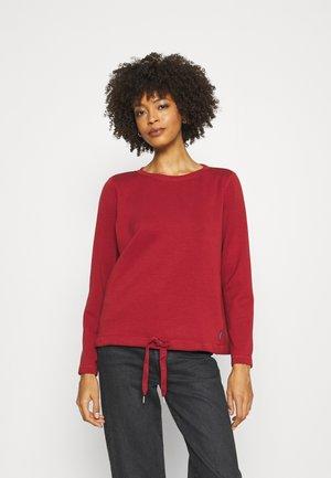 Sweatshirt - dark maroon red