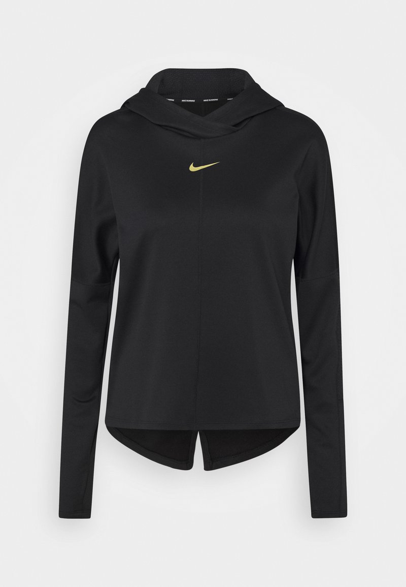 Nike Performance - Sports shirt - black/metallic gold