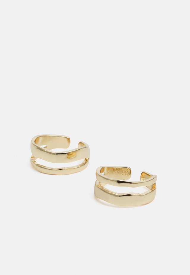 2 PACK - Bague - gold-coloured