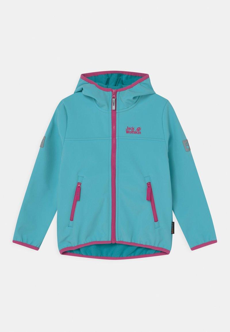 Jack Wolfskin - FOURWINDS UNISEX - Soft shell jacket - atoll blue