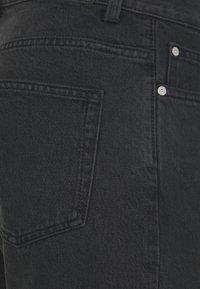 Weekday - SUNDAY  - Jeansshorts - mine black - 2