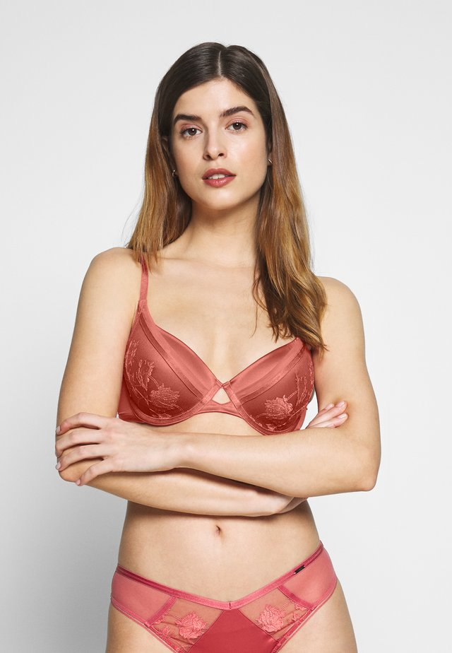 AUTOGRAPH PEONY FULL CUP - Underwired bra - dark rose