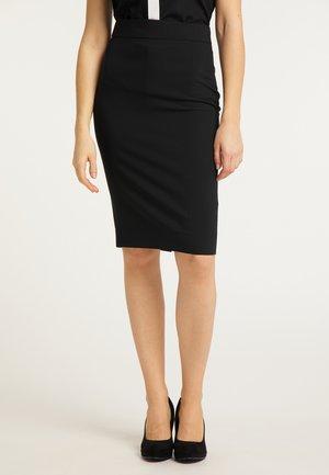 BLEISTIFTROCK - Pencil skirt - schwarz