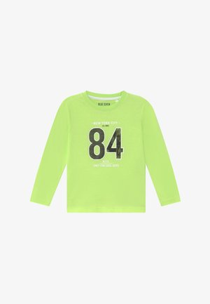 KIDS DINOSAUR - Long sleeved top - neon green