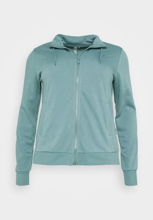 ONPELINA HIGH NECK CURVY  - Zip-up hoodie - goblin blue