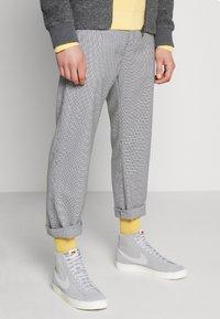 Nike Sportswear - BLAZER MID '77 UNISEX - High-top trainers - wolf grey/pure platinum/sail - 0