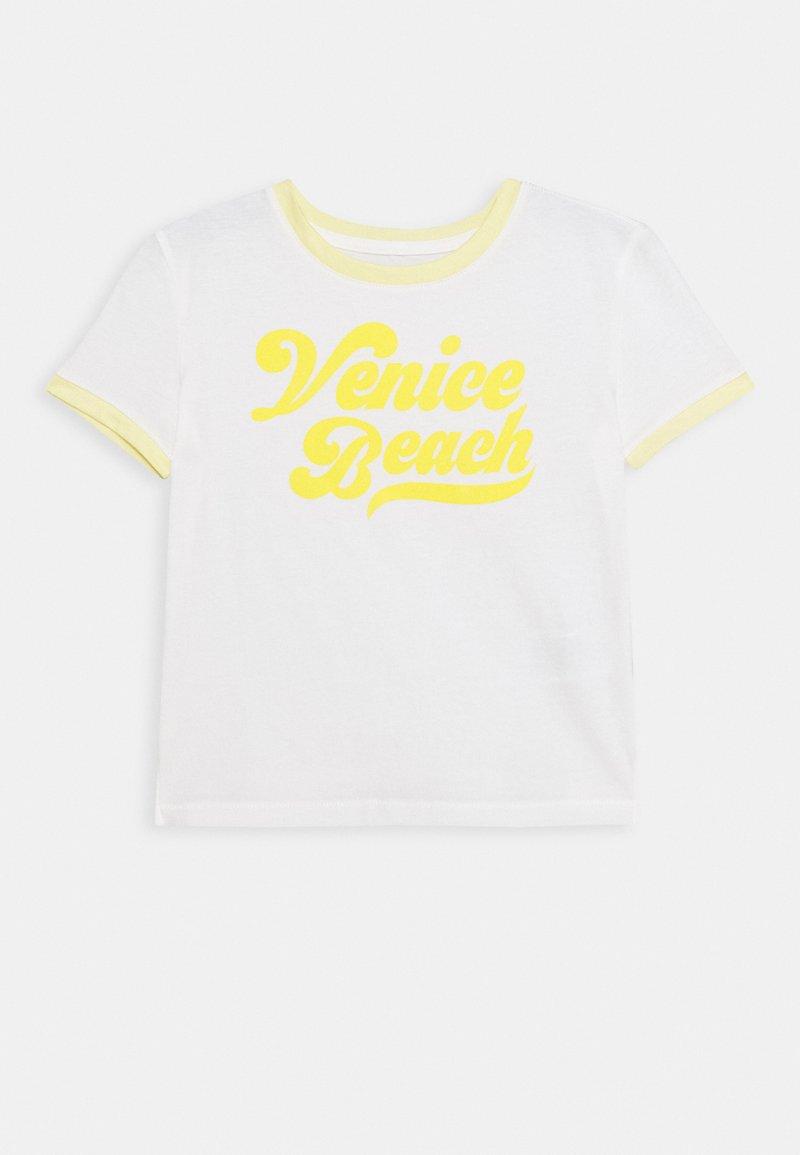 GAP - GIRLS BOXY - T-shirt print - new off white